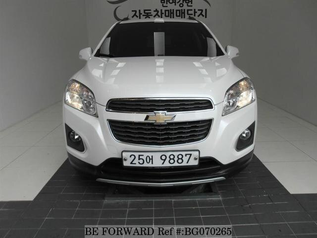 Used 2013 Chevrolet Trax For Sale Bg070265 Be Forward