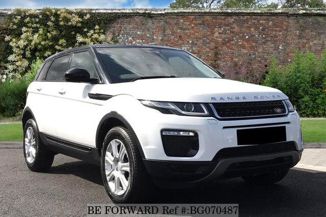 used 2016 land rover range rover evoque auction grade 4 5 auto diesel for sale bg070487 be forward. Black Bedroom Furniture Sets. Home Design Ideas
