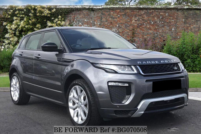 Used 2017 Land Rover Range Rover Evoque Auction Grade 4 5 Auto