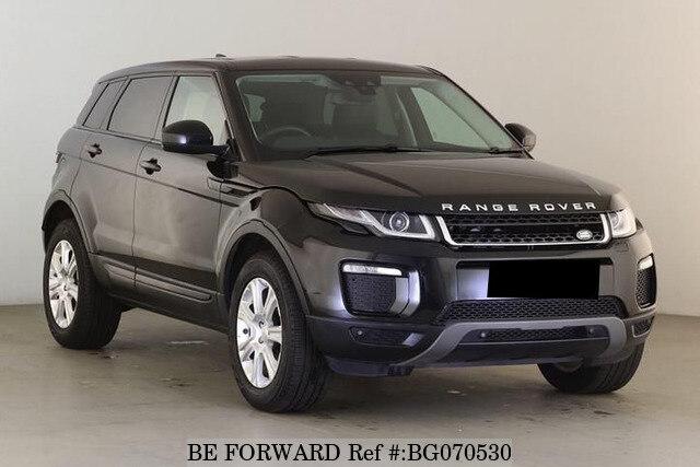 Used 2017 Land Rover Range Evoque Bg070530 For Image
