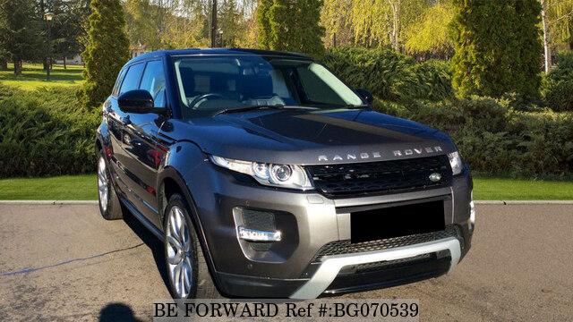 Used 2014 Land Rover Range Rover Evoque Auction Grade 4 5 Auto