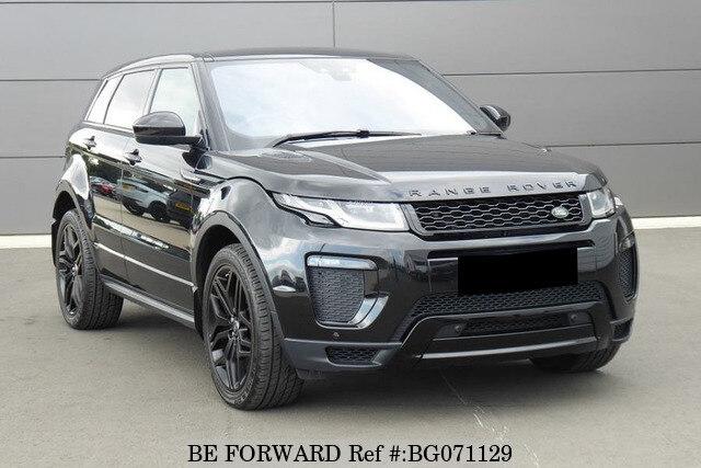 Used 2018 Land Rover Range Rover Evoque Auction Grade 4 5 Auto