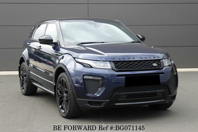 Used 2018 Land Rover Range Rover Evoque Auction Grade 4 5 Auto