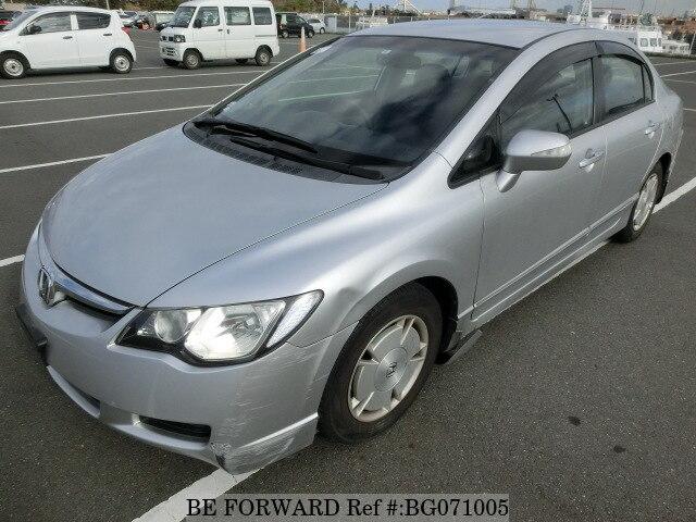 Used 2006 Honda Civic Hybrid Bg071005 For
