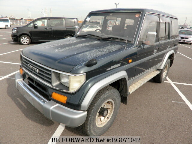 Used 1994 TOYOTA LAND CRUISER PRADO BG071042 for Sale