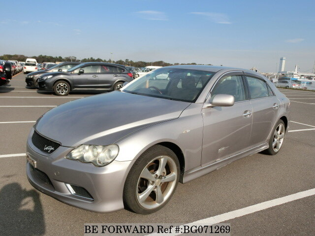Used 2006 TOYOTA MARK X BG071269 for Sale