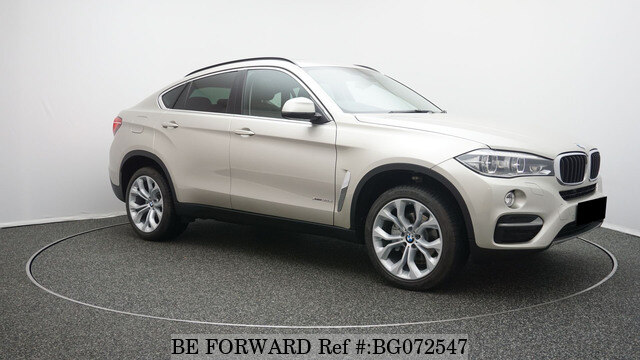 used 2016 bmw x6 auction grade 4 5 auto diesel for sale bg072547 be forward. Black Bedroom Furniture Sets. Home Design Ideas