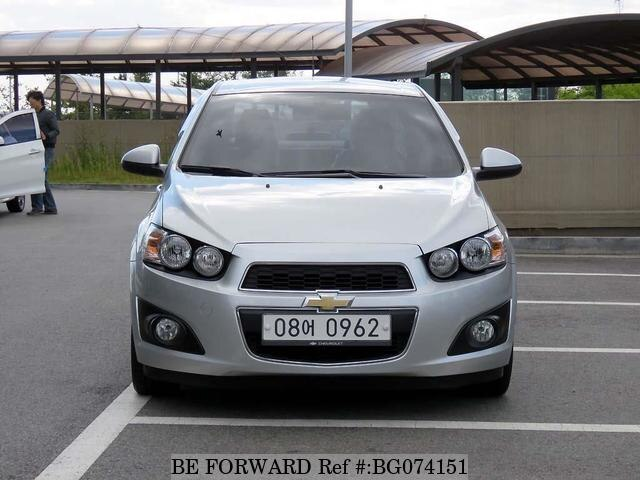 Used 2013 Chevrolet Aveo For Sale Bg074151 Be Forward