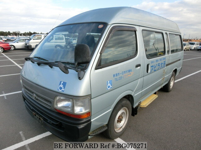 70c5e50a81 Used 2002 TOYOTA HIACE COMMUTER KG-LH186B for Sale BG075271 - BE FORWARD
