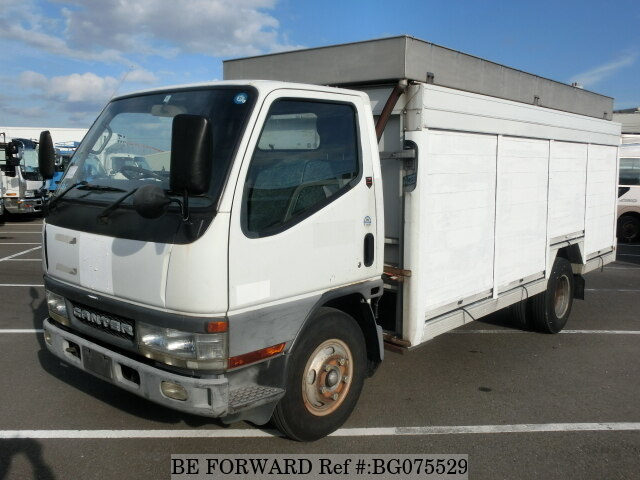 Used 2002 MITSUBISHI CANTER BG075529 for Sale