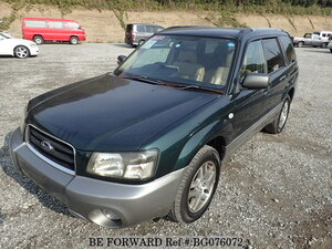 Used 2004 SUBARU FORESTER BG076072 for Sale