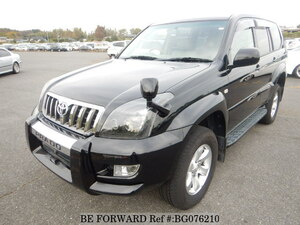 Used 2003 TOYOTA LAND CRUISER PRADO BG076210 for Sale