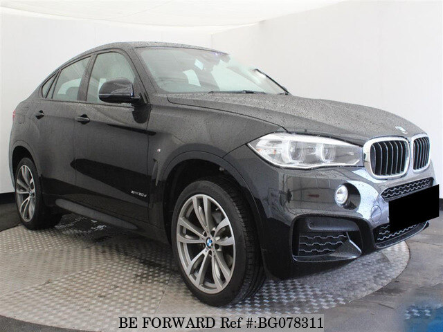 Used 2016 Bmw X6 Auction Grade 4 5 Auto Diesel For Sale Bg078311