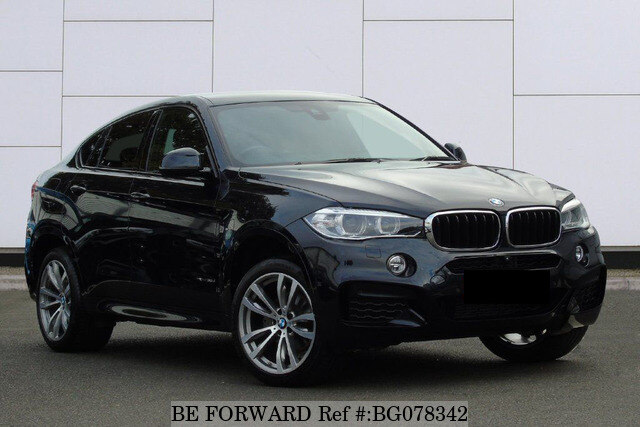 Used 2017 Bmw X6 Auction Grade 4 5 Auto Diesel For Sale Bg078342