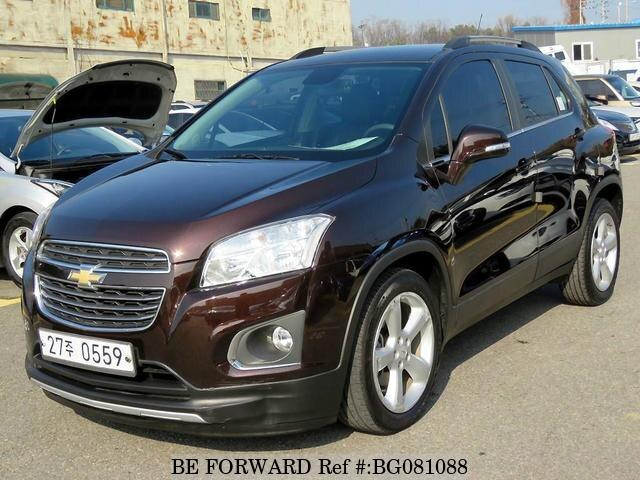 Used 2016 Chevrolet Trax For Sale Bg081088 Be Forward