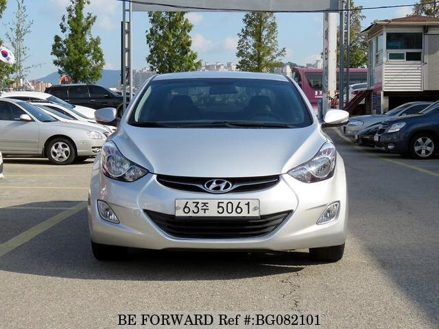 Used 2013 HYUNDAI AVANTE (ELANTRA) BG082101 for Sale