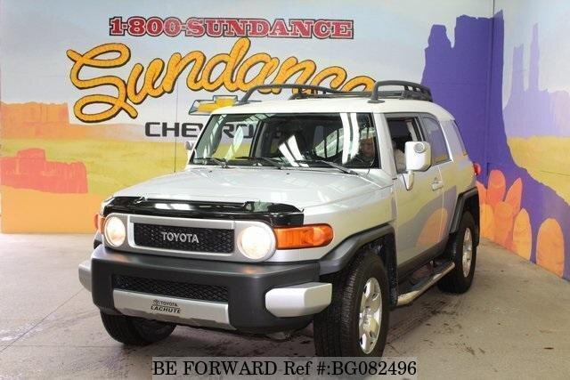 Used 2007 TOYOTA FJ CRUISER BG082496 for Sale