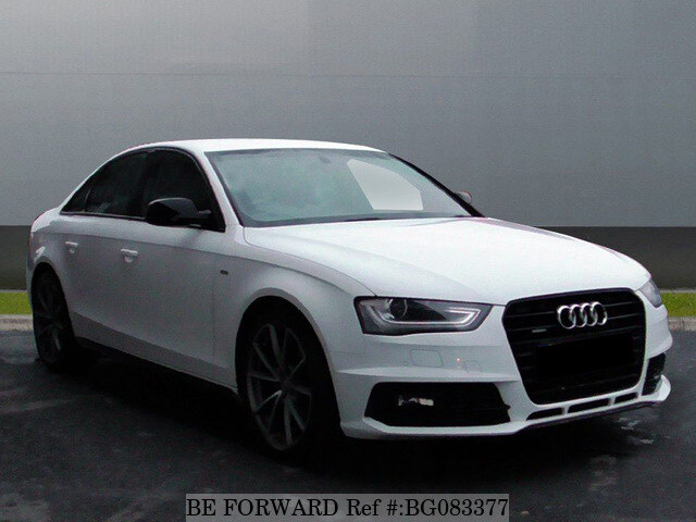 Used 2015 Audi A4 Auction Grade 45 Auto Diesel For Sale Bg083377