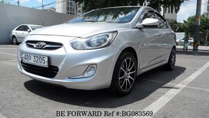 Used 2010 HYUNDAI ACCENT BG083569 for Sale