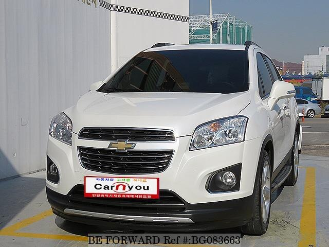 Used 2016 Chevrolet Trax For Sale Bg083663 Be Forward