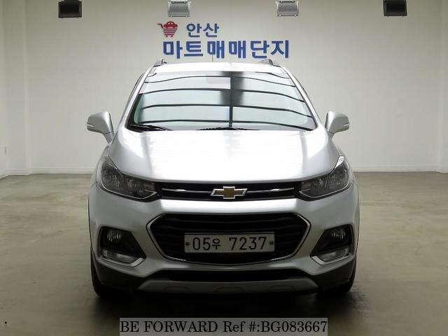Used 2018 Chevrolet Trax For Sale Bg083667 Be Forward