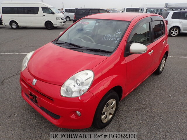 Used 2010 TOYOTA PASSO BG082300 for Sale