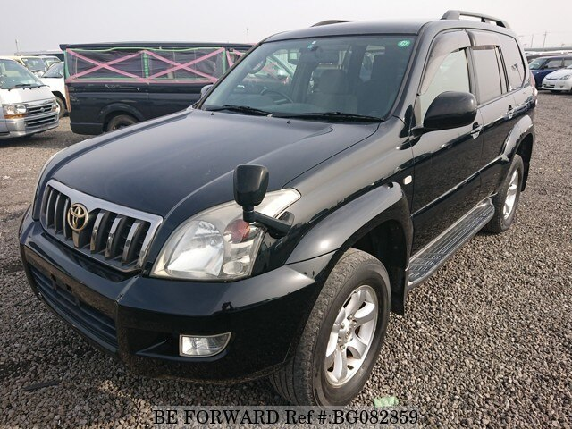 Used 2007 TOYOTA LAND CRUISER PRADO BG082859 for Sale