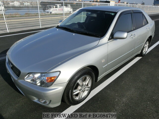 Used 2002 TOYOTA ALTEZZA BG084799 For Sale Image