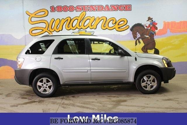 Used 2005 CHEVROLET EQUINOX BG085874 for Sale