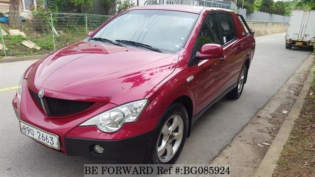 Used 2007 SSANGYONG ACTYON BG085924 for Sale