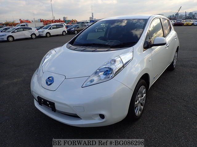 Used 2013 NISSAN LEAF BG086298 for Sale