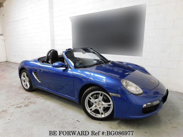 Used 2006 Porsche Boxster Bg086977 For