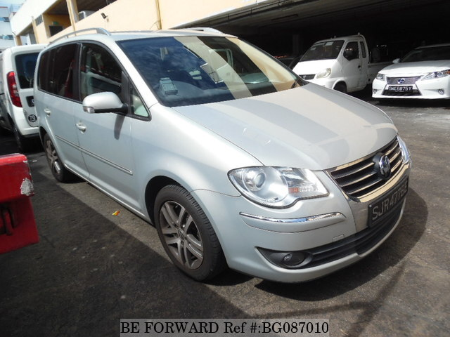 Used 2009 VOLKSWAGEN TOURAN BG087010 for Sale