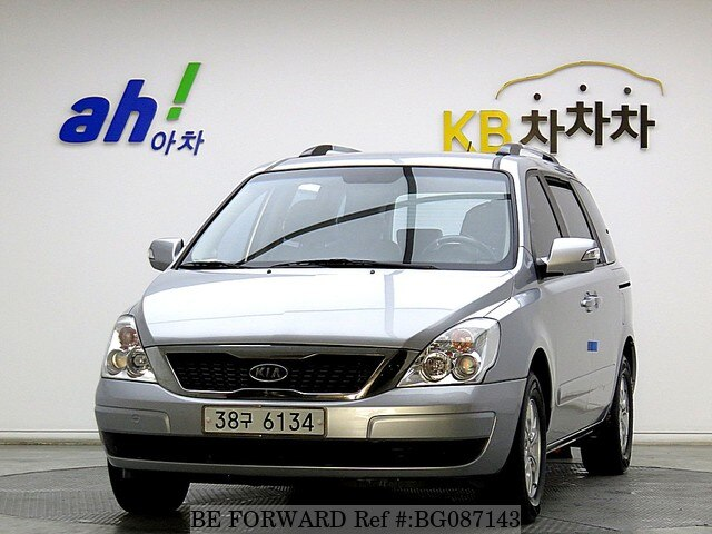 Used 2010 KIA CARNIVAL BG087143 for Sale