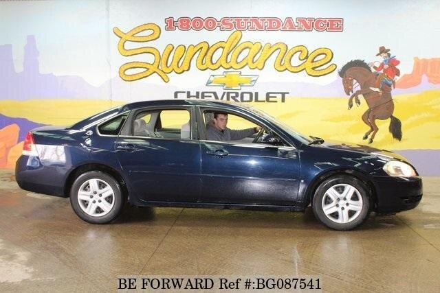 Used 2007 CHEVROLET IMPALA BG087541 for Sale
