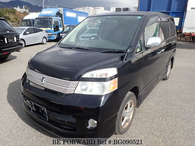 Used 2005 TOYOTA VOXY BG090521 for Sale
