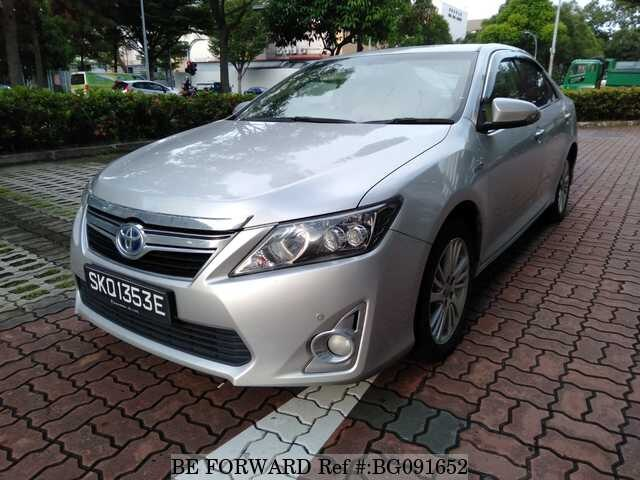 used 2014 toyota camry hybrid for sale bg091652 be forward. Black Bedroom Furniture Sets. Home Design Ideas