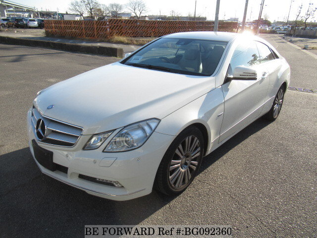 Used 2010 MERCEDES-BENZ E-CLASS BG092360 for Sale
