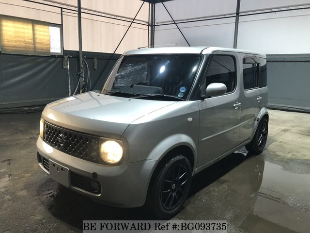 Used 2002 Nissan Cube For Sale Bg093735 Be Forward