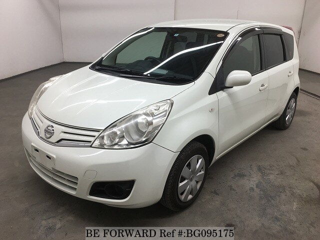 Used 2012 NISSAN NOTE BG095175 for Sale