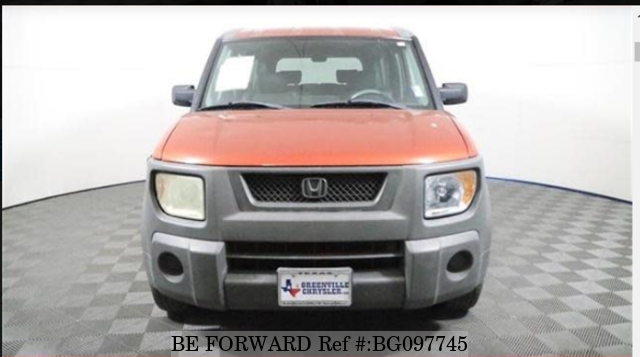 Used 2004 Honda Element 04 Ex For Sale Bg097745 Be Forward