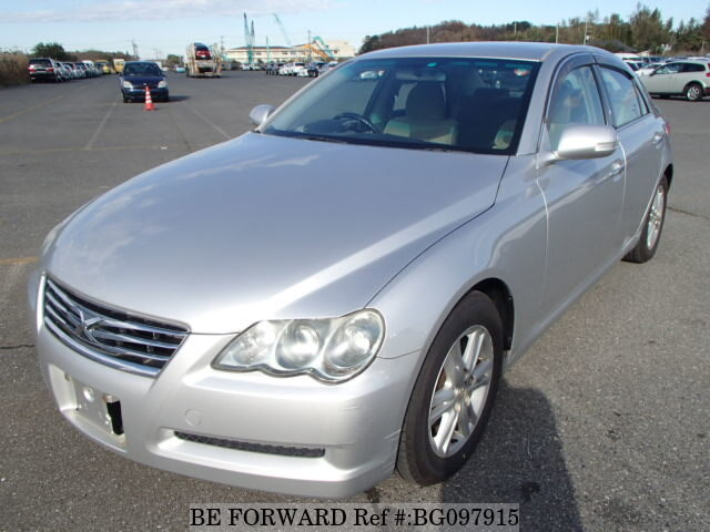 Used 2008 TOYOTA MARK X BG097915 for Sale