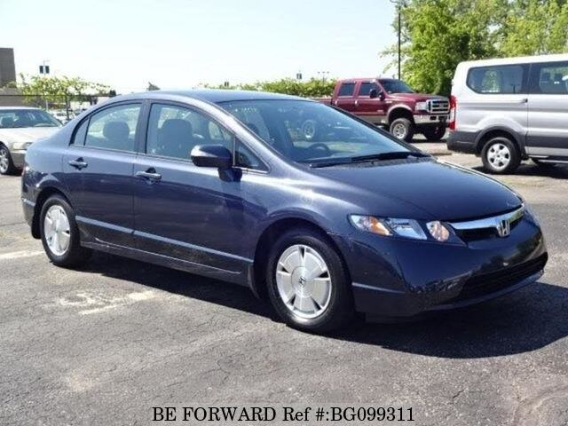 Used 2007 Honda Civic Hybrid Bg099311 For