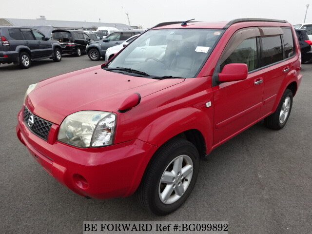 Used 2004 NISSAN X-TRAIL BG099892 for Sale