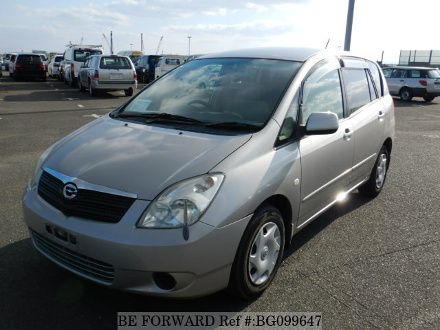 Used 2002 TOYOTA COROLLA SPACIO BG099647 for Sale