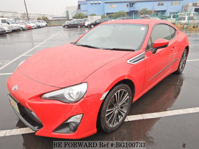 Used 2012 TOYOTA 86 BG100733 for Sale