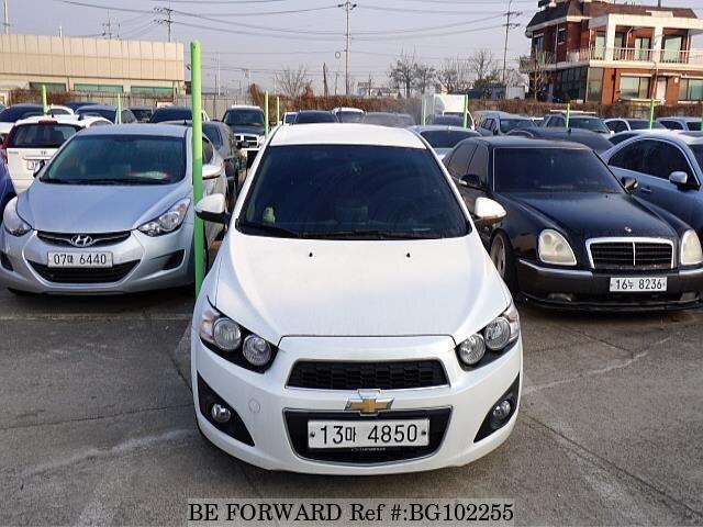 2014 Chevrolet Aveo Doccasion Bg102255 Be Forward