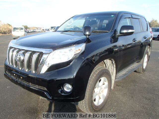 Used 2013 TOYOTA LAND CRUISER PRADO BG101886 for Sale