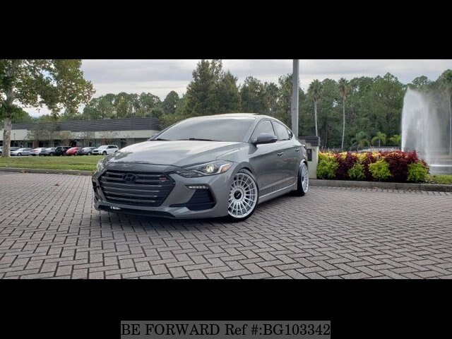 Used 2017 HYUNDAI ELANTRA BG103342 for Sale