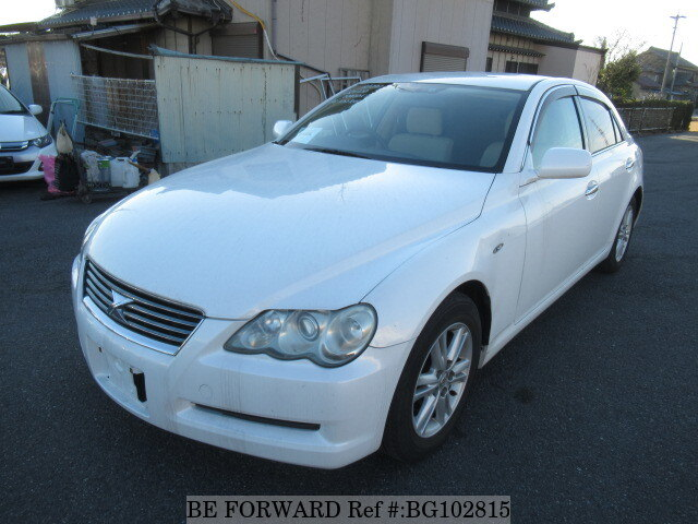 Used 2005 TOYOTA MARK X BG102815 for Sale